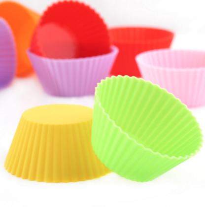 Cupcake liners, Silicone Molds, baking cups
