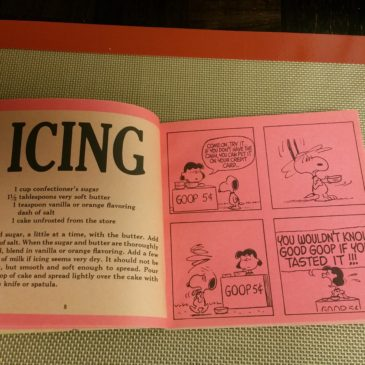 The Peanuts Cook Book – ICING